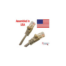 Professional Cable Gray Category 6 14 Foot 500 Mhz UTP Cable