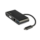 StarTech.com USB C VGA Multiport Adapter  Power Delivery Charging