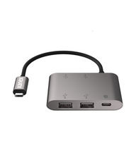 Kanex 4Port USB Charging Hub with USBC for MacBook in Space Gray