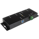 StarTech.com 4 Port Industrial USB 3.0 Hub  Mountable  Rugged USB Hub