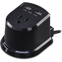 CyberPower CSP105U Dual Power Station 1Outlet with 22.1A USB Charging Ports and 5FT Cord