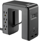 APC by Schneider Electric SurgeArrest Essential 6Outlet Surge SuppressorProtector