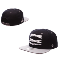 Zephyr Adult Skate Lacer Flat Bill Adjustable Snapback hat