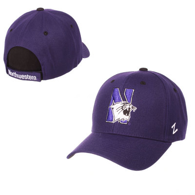 165a9cfe747 Northwestern Bookstore Bookstore - Zephyr Adult Competitor Curved Bill  Adjustable Velcro hat