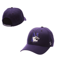Zephyr Adult Competitor Curved Bill Adjustable Velcro hat