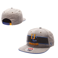 Zephyr Adult Avenue Flat Bill Adjustable Snapback hat