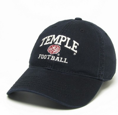 finest selection 56ad7 f1b17 ... denmark temple university main campus bookstore legacy relaxed twill  adjustable football hat 322f4 80ccd