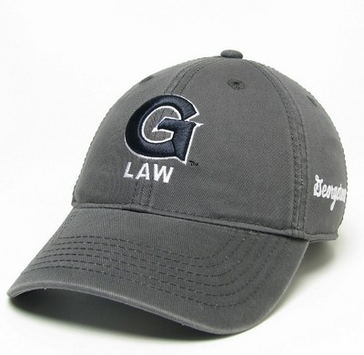 Georgetown University Law Center Bookstore - Legacy Relaxed Twill  Adjustable Law Hat 31e3956a83cf
