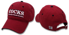 South Carolina Gamecocks Garment Washed Twill Cap