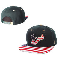 Zephyr State Flag Flat Bill Adjustable Snapback Hat