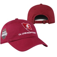 Top of the World Ol Crimson 200th Custom Design Hat