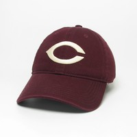 Unstructured washed twill cap with two location raised embroidered University of Chicago, 100% Cotton. Show your Chicago pride! Click photo to view other possible graphic options.