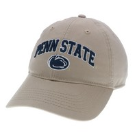 Unstructured washed twill cap with raised embroidered Penn State University, 100% Cotton. Wear your Penn State spirit! Click photo to view other possible graphic options.