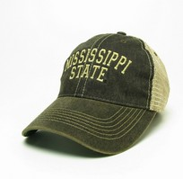 Mississippi State Bulldogs Legacy Adjustable Washed Twill Hat