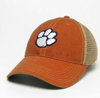 Clemson Tigers Legacy Adjustable Washed Twill Hat