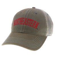 Northeastern Huskies Legacy Adjustable Washed Twill Hat