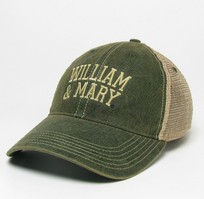 William and Mary Legacy Adjustable Washed Twill Hat