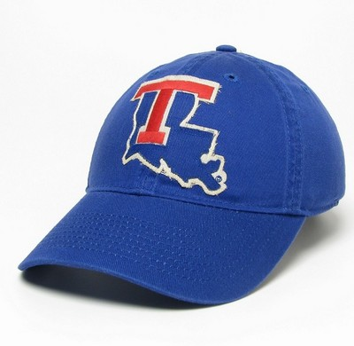 Louisiana Tech University Bookstore - Legacy Relaxed Twill Adjustable Hat 9870f860b822