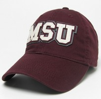 Mississippi State Bulldogs Legacy Adjustable Washed Twill Cap