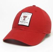 Texas Tech Red Raiders Legacy Adjustable Washed Twill Cap