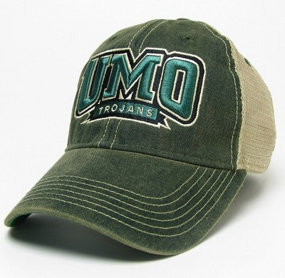 University of Mount Olive Bookstore - Legacy Old Favorite Adjustable Trucker  Hat c05987a4f2e
