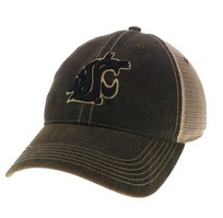 Washington State Cougars Legacy Adjustable Twill Cap