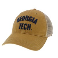 Georgia Tech Legacy Adjustable Twill Cap