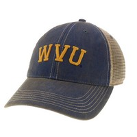 WVU Mountaineers Legacy Adjustable Twill Hat