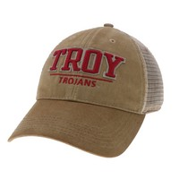 Troy University Legacy Adjustable Twill Cap