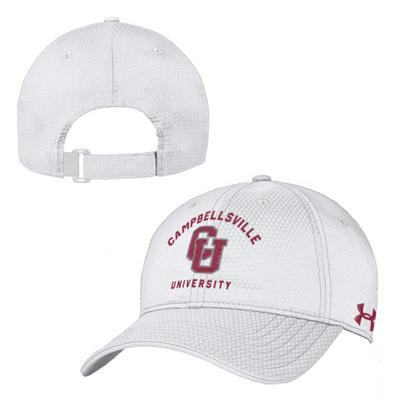 f74b11ede Under Armour Zone Adjustable Hat | The Campbellsville University ...