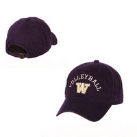 Washington Volleyball Adj Hat