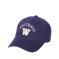 Washington Softball Adj Hat