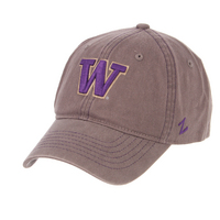 Zephyr Washington Composure unstructured curved bill adjustable hat.