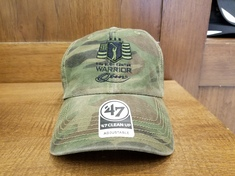 Warrior Open Camo Hat