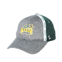 Zephyr George Mason Mixtape Adult Semi Structured Curved Bill Adjustable Hat