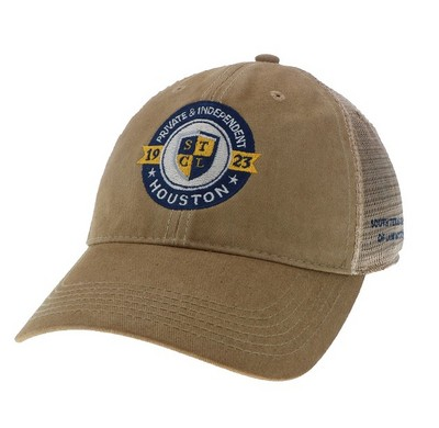 South Texas College of Law Houston Bookstore - Legacy Old Favorite  Adjustable Trucker Hat f916a68f5ec