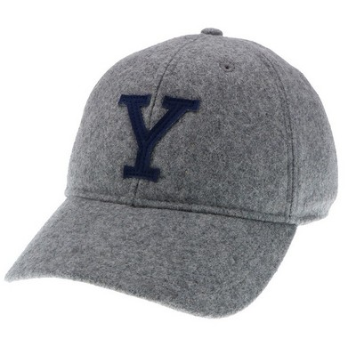 45a43061 Legacy Vintage Wool Flannel Adjustable Hat | The Yale Bookstore