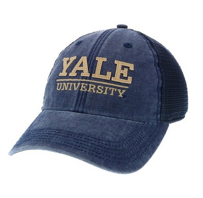 cd4d27ebd6b The Yale Bookstore - Legacy Dashboard Adjustable Trucker Hat