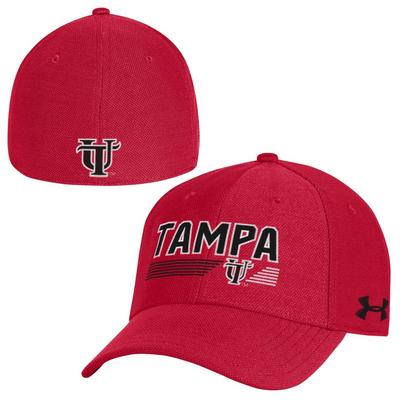 1d6cb84ab31 The University of Tampa Bookstore - Under Armour Blitzing 30 Stretch Fit Cap