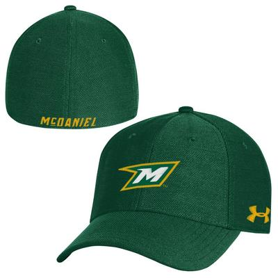 c9bfd83592a McDaniel College Bookstore - Under Armour Blitzing 30 Stretch Fit Cap