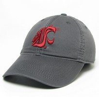Washington State Cougars Legacy Fitted Twill Hat