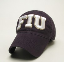 FIU Legacy Fitted Washed Twill Hat
