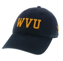WVU Mountaineers Legacy Fitted Washed Twill Hat