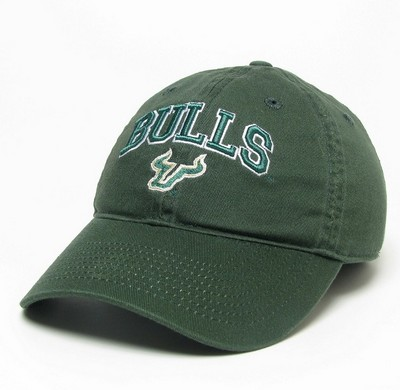 South Florida Bulls Legacy Fitted Washed Twill Hat