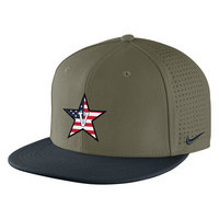 Nike Fitted Flat Bill Baseball Cap