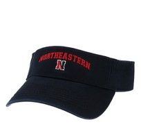 Northeastern Huskies Legacy Adjustable Visor