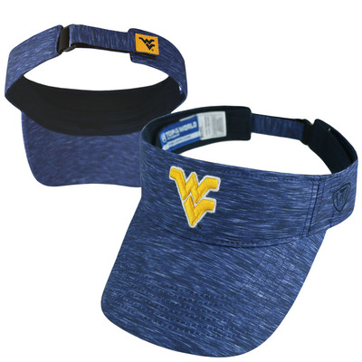 WVU-Downtown Mountainlair Bookstore - Top of the World Adjustable Energy  Visor c0f4d6cf5bc
