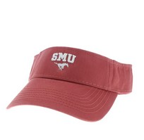 SMU Mustangs Legacy Adjustable Visor
