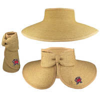 Lucy Visor Hat with Bow