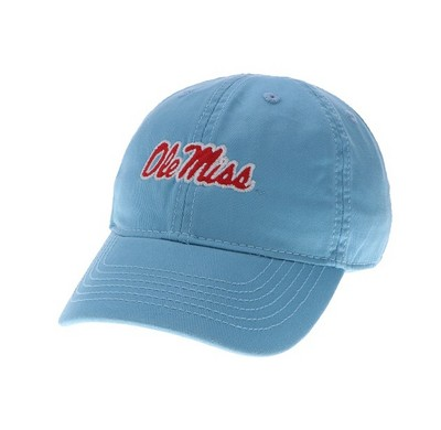 Ole Miss Legacy Toddler Adjustable Washed Twill Hat
